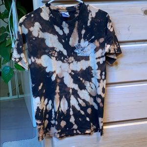 Lost Coast Brewery Shirt: Bleach Tie Dye
